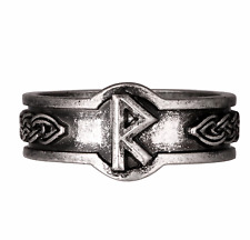 Nordic Viking Rune Raidho Slavic Ring Size U