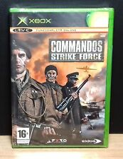 COMMANDOS STRIKE FORCE - XBOX - PAL - NEW OLD STOCK FACTORY SEALED