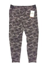 RHONE Mens Gray Black Camo Spar SeaCell Jogger Sweat Pants Sz XL (MSRP $118)