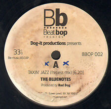 DOG-IT PRODUCTION PRESENTS THE BLUENOTES - taxin' jazz - beat bop