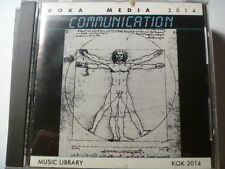 KOKA MEDIA COMMUNICATION 1988 RARE LIBRARY SOUNDS MUSIC CD
