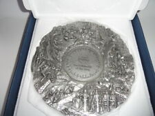 Royal Selangor Lord of Rings Fellowship of the Ring Collector's Pewter Plate
