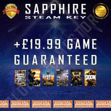 Sapphire Premium Random Steam Keys Key Game GAMES (Guaranteed +£19.99 GAME)