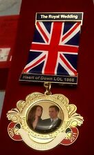 The Royal Wedding: William & Catherine 2011  medal with ribbon