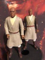 Hasbro Star Wars Episode I Action Figure 1998 Lot of 2 Mace Windu