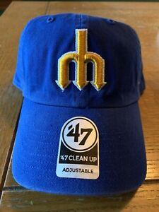 SEATTLE MARINERS '47 BRAND ADJUSTABLE HAT