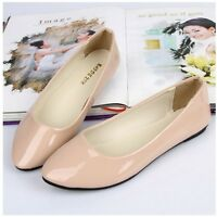 Womens Boat Shoes Casual Ballet Slip On Flats Loafers Single Shoes Candy Color
