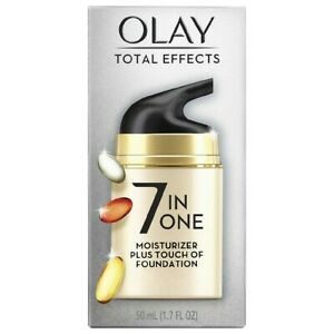 Olay Total Effects Face Moisturizer + Touch of Foundation1.7oz