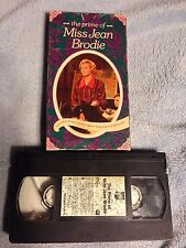 The Prime of Miss Jean Brodie (1969) - VHS Video Tape - Drama - Maggie Smith