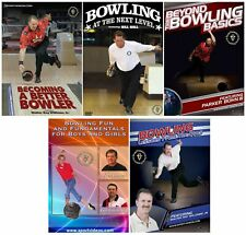 5 Bowling DVDs for $25 Summer Sale - Instructional Videos - Free Shipping!