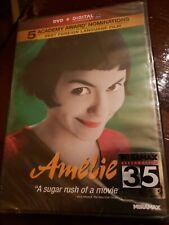 New! Amelie Dvd Ultra Digital 2001 Sealed!