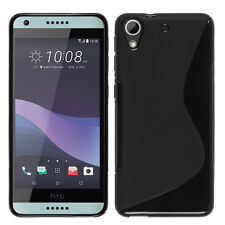Cover Case TPU Silicone S-Line black for HTC Desire 650
