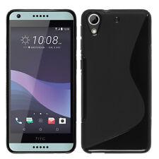 Schutzhülle TPU Silikon- S-Line schwarz für HTC Desire 650