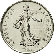 [#462605] France, Semeuse, 5 Francs, 1991, Paris, FDC, Nickel Clad Copper-Nickel