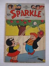 SPARKLE COMICS 18 VG 25 VG 31 FR/G NANCY + SLUGGO Guide $32