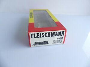 FLEISCHMANN 4078 BOITE VIDE LOCOMOTIVE A VAPEUR TYPE 232