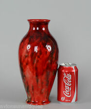 Beautiful Royal Doulton Flambe Vase signed NOKE 10 3/8 inches