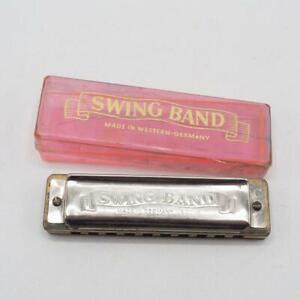 Vintage German Harmonica Kostler & Co Swing Band Made In US Zone