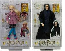 Harry Potter Luna Lovegood and Severus Snape Dolls - Mattel New In Stock 2020