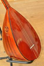 Baglama Saz mit kurzem Hals  ausgefallene Farbe Rot 190814 Rosenholz Wirbel