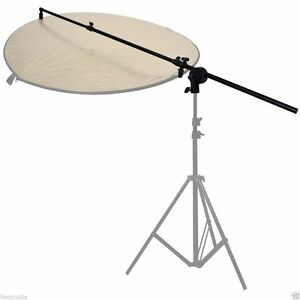 Reflector Holder Studio Boom Arm 1.7m Collapsible Disc Photography Grip Photo UK