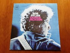 BOB DYLAN PS SINGLE George Jackson (acoustic + with band) (CBS 7688 -SPAIN 1971)
