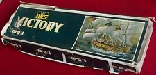 "Sergal Italy HMS Victory 1:78 Scale Wooden Ship Kit - Huge 49.5"" Long  - Look!"
