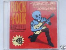 ROCK & FOLK  MONSTER CD  VOL.4, 18 TITRES, TRES BON ETAT