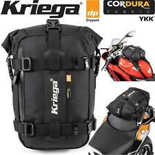 Kriega us-5 Drypack MOTO-Posteriore Borsa Cordura 5 Litri Impermeabile Borsa Bagagli