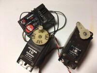 Futaba vintage servos and receiver spares or repair vintage