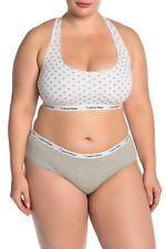 New Women's CALVIN KLEIN Set Of  3 QP1748O  Carousel Hipster Panty Plus size 3X