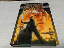 Star Wars:  I, Jedi by Michael A. Stackpool (1998, Hardcover) SIGNED 1st/1st