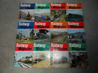 All 12 Issues Of RAILWAY MAGAZINE From 1975