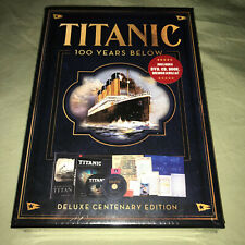 Titanic 100 Years Below 2-Disc Set With Book DVD CD Documentary Movie