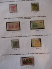 MONACO.- N° 104 à 113 - 1924   - cote: 37 €