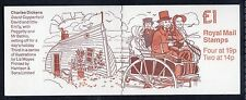GB QEII FOLDED BOOKLET FH15 DICKENS SERIES 3 DAVID COPPERFIELD 1988