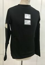SDL Original  Black Heavy Cotton  Top With Metal Plate Size XL Id29
