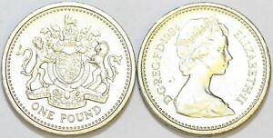1983 to 2016 Elizabeth II Nickel Brass Decimal £1 Your Choice of Date / Year