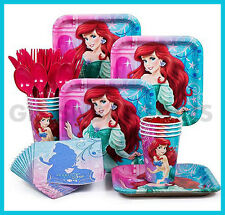 Disney Ariel Little Mermaid Birthday Party Table Supplies Bonus Free Ariel Purse