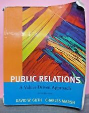 Public Relations: A Value Driven Approach 5th Edition Paperback (VK189)