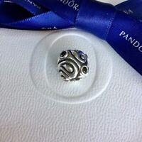 Authentic Genuine Pandora XL Oversized Black Daydream CZ Charm #190869CZ