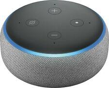 Amazon Echo Dot (3.Generation) mit Alexa Sprachsteuerung Grau Stoff NEU OVP