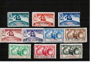 Panama 1935 Columbus set Unmounted Mint Unissued & Scarce