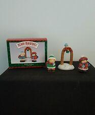 Hallmark Merry Miniatures Bashful Mistletoe 3 Piece Set Collection