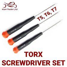3PC Cacciavite Torx Set, T5, T6, T7, Star testa, Riparazione, iPod,