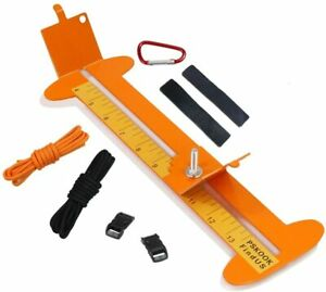 PSKOOK Paracord Bracelet Jig Kit Bracelet Maker Braided Metal Frame Craft Maker