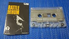 U2 **Rattle And Hum** RARE & SCARCE 1989 Mexico CASSETTE NO PROMO LP OR CD