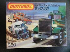 Matchbox Katalog - Collectors Catalog 1982/83 NEU-OVP