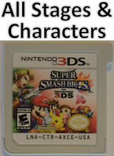Super Smash Bros All Specials Outfits Coin Unlocked except DLC 2DS 3DS XL