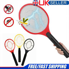 Electric Fly Insect Racket Zapper Killer Swatter Bug Mosquito Wasp Electronic UK